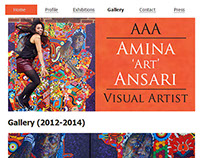 www.aminaart.org - Logo and Website