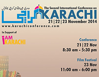 Design for 2nd International Karachi Conference 2014