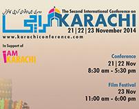 Design for 2nd International Karachi Conference 2014