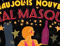Postcard: Théatre du Reve's 2012 Bal Masqué