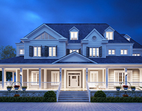 American style villa