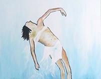 Envol, 2014 (100*70 cm - Acrylique sur toile)