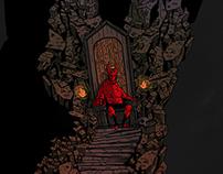 [Illustration] Hellboy