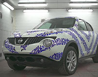 CARLIGRAPHY: Calligraphy on Cars project. Video & Photo