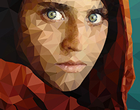 Low poly project: famous photographs