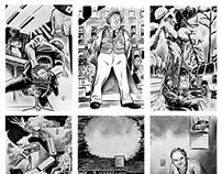 Pulp Magazine Illustrations