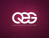Qatar Entertainment & Events Group: Logo & Identity