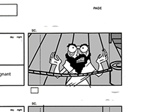 Storyboards: Noah's Arc sequence
