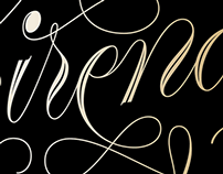 Sirenas Lettering