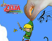 The Legend of Zelda - The Wind Waker Chibis Fall