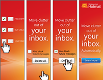 Microsoft Windlows Live/Ad Center Banners