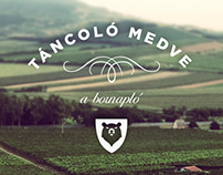 Táncoló Medve website and brochure