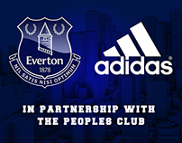 Everton Football Club - Adidas sponsor