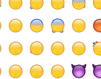 Emoji from the back
