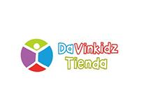 Davinkidz. Website and on-line shop