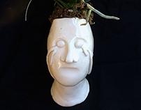 Flower Pot Bust
