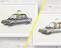 Illustrations / Car / Personal work