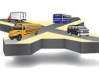 Industry Crossroads Illustration