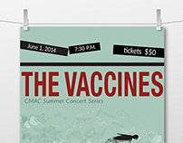 Vaccines Concert Poster Series
