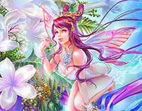 Flower Fairy Stephanotis
