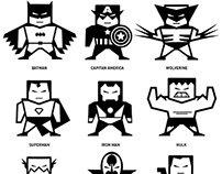 Pictogramas / Superheroes