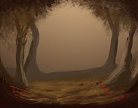 Forest Speed Painting