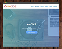 Avoice // Website Re-Design