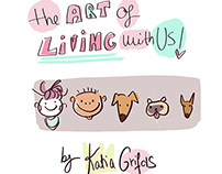 The Art of Living with Us! Weekly comic 2015