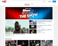 Youtube Masthead CLOSE UP