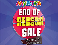 Myntra - End Of Reason Sale
