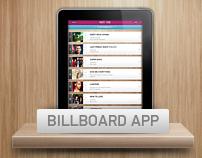 Billboard iPad App