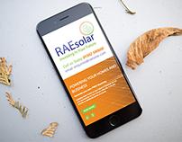 RAE Solar | Web Design