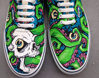 Custom painted shoes 2