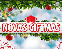 Promotional Artwork for Nova's Giftmas