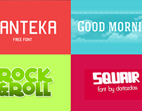 21 Professional Fonts for Graphic and Web Designers
