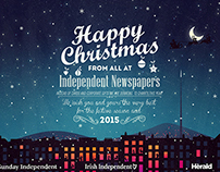Irish Independent Christmas Card 2014