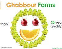 Ghabbour Farms Branding Project