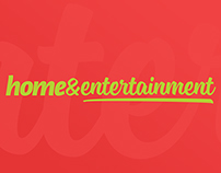 HOME&ENTERTAINMENT TV BRANDING