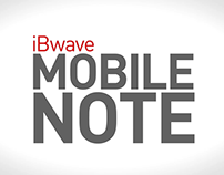 iBwave Mobile Note Video