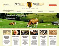 """Сайт-каталог для компании """"Агробэст"""""""