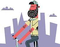 Cyclist Magazine: Hipster
