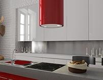 Kitchen Appliances Render