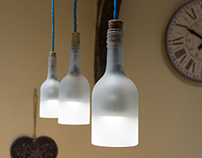 Bottle Pendant Lights