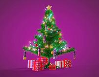 Saludo Navidad Activia - Facebook