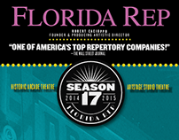 Season Playbill Cover: Florida Rep 2014-15