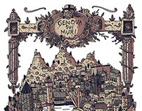 """Genova Sui Muri"" map"