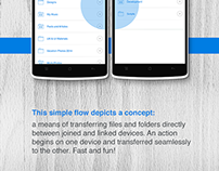 Dropbox connectivity concept