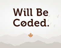 Will Be Coded