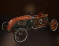 Soapbox derby racer (kart)