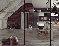 Interiors in c4d